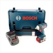 Bosch GDS 18 V-EC 250 Professional brushless Akku Dreh Schlagschrauber in L-Boxx, Schnellladegerät und 1x GBA 6 Ah Akku