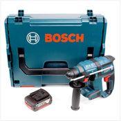 Bosch GBH 18 V-EC brushless Bohrhammer Professional SDS-Plus in L-Boxx und 1x GBA 6 Ah Akku