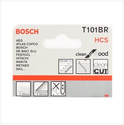 Bosch 5 Stichsägeblätter Clean for Wood T 101 BR ( 2608630014 ) – Bild 4