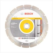 Bosch Diamant Trennscheibe 230 x 22,23 mm Standard for Universal ( 2608602195 )