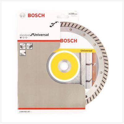 Bosch Diamant Trennscheibe 2er Set 230 x 22,23 Standard for Universal Turbo ( 2608602397 ) – Bild 3