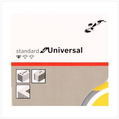 Bosch Diamant Trennscheibe 2er Set 230 x 22,23 Standard for Universal Turbo ( 2608602397 ) – Bild 5