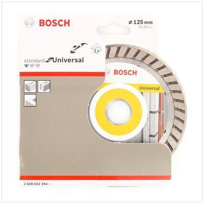 Bosch Diamant Trennscheibe 10er Set 125 x 22,23 Standard for Universal Turbo ( 2608602394 ) – Bild 3