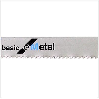 Bosch 25 Stichsägeblätter Basic for Metal T 118 A ( 2608631013 ) – Bild 5