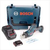 Bosch GSA 18 V-LI C Professional Scie sabre sans fil avec boîtier L-Boxx + 1x Batterie GBA 2 Ah + Chargeur GAL 1880