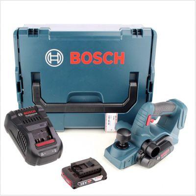 Bosch GHO 18 V-Li Professional Akku Hobel in L-Boxx mit GAL 1880 CV Schnellladegerät und 1x GBA 2 Ah Akku – Bild 2