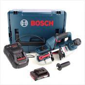 Bosch GCB 18 V-Li Akku Bandsäge 18V in L-Boxx + 1x 2,0Ah Akku + Ladegerät