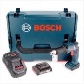 Bosch GSR 18 V-EC TE Professional brushless Akku Trockenbauschrauber in L-Boxx + GAL 1880 CV Schnellladegerät + 1x GBA 2 Ah Akku