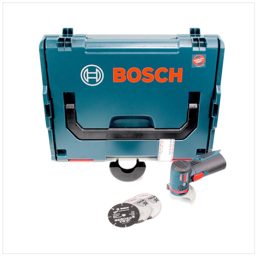 bosch gws 10 8 76 v ec professional akku winkelschleifer solo in l boxx 06019f2003. Black Bedroom Furniture Sets. Home Design Ideas