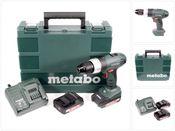 Metabo SB 18 Li 18 V Akku Schlagbohrschrauber mit 2x 2 Ah Akku, Ladegerät im Koffer ( 602317500 )