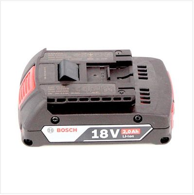 Bosch Akku Set mit 2 x GBA 2 Ah Akku und Ladegerät GAL 1880 CV für 14,4 V - 18 V Li-Ion  – Bild 5