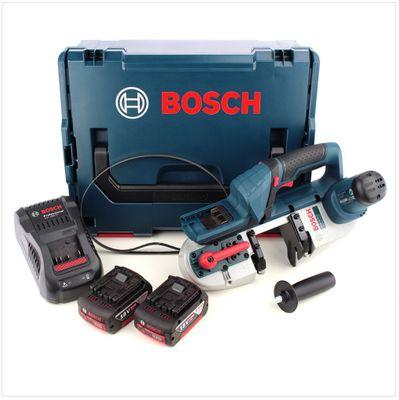 Bosch GCB 18 V-LI Akku Bandsäge 18V + 2x Akku 5,0Ah + Ladegerät + L-Boxx – Bild 2