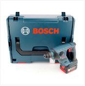 Bosch GBH 18 V-LI Akku Bohrhammer 18 V 1,0 J SDS plus + L-Boxx + 1x Akku 5,0Ah - ohne Ladegerät