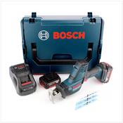 Bosch GSA 18V-LI C Akku Säbelsäge 18V + 2x Akku 5,0Ah + Ladegerät + L-Boxx