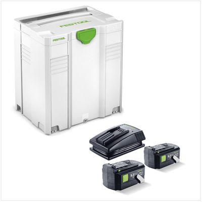Festool HKC 55 Li 5,2 EB-Plus-FSK420 Scie circulaire sans fil avec boîtier Systainer + 2x Batteries BPC 5,2 Ah + Chargeur TCL 3 ( 564624 ) – Bild 4