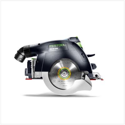 Festool HK 55 EBQ Plus FS Handkreissäge 1200W 160mm im Systainer ( 574673 ) + Zubehör – Bild 3