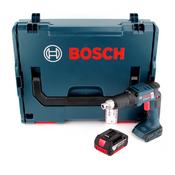 Bosch GSR 18 V-EC TE Akku Trockenbauschrauber 18V 25Nm Brushless + 1x Akku 5,0Ah + L-Boxx - ohne Ladegerät