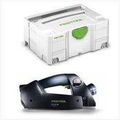 Festool EHL 65 EQ-Plus Rabot 230V en Coffret Systainer + Accessoires ( 574557 )