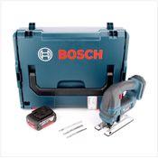 Bosch GST 18 V-Li B Akku Stichsäge 18V in L-Boxx + 1x 5,0 Ah Akku - ohne Ladegerät