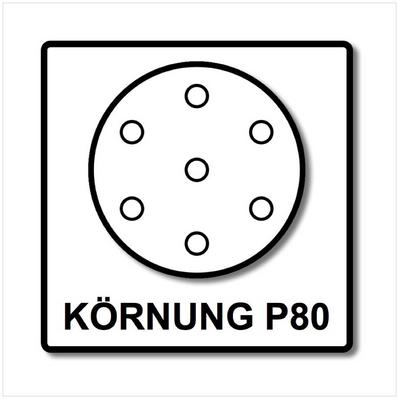 Festool STF D150/16 Abrasifs Ø150 mm P80 GR / 50 Pièces ( 496977 ) – Bild 4