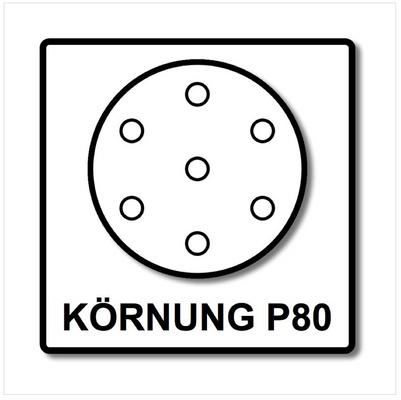 Festool STF D125/8 Schleifscheiben 125 mm Granat P80 GR / 50 Stück ( 497167 ) – Bild 4