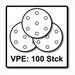 Festool STF D125/8 Schleifscheiben 125 mm Granat P150 GR / 100 Stück ( 497170 ) – Bild 5