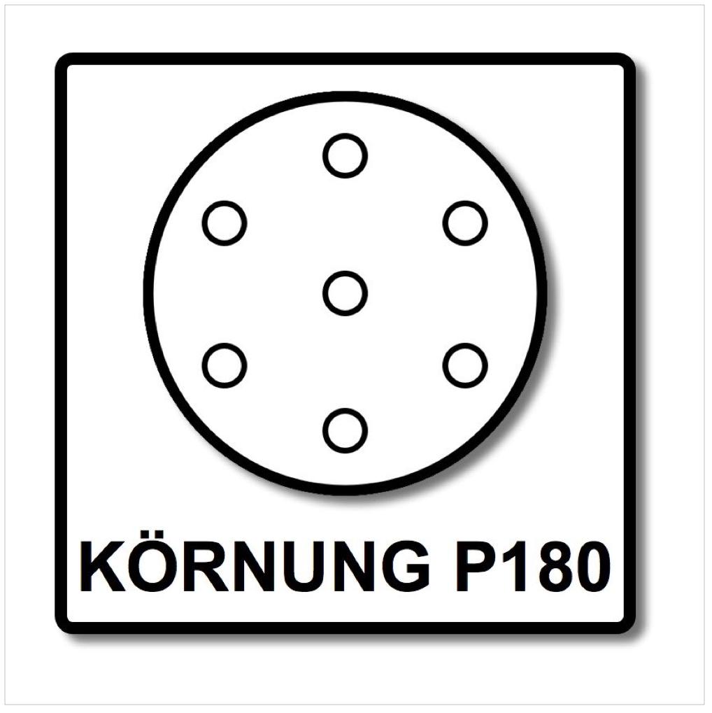 festool stf d125 8 schleifscheiben 125 mm granat p180 gr 100 st ck 497171 4014549138052 ebay. Black Bedroom Furniture Sets. Home Design Ideas