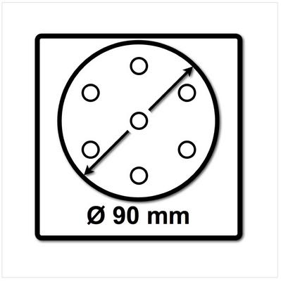 Festool STF D90/6 Schleifscheiben 90 mm Granat P60 GR / 50 Stück ( 497364 ) – Bild 3
