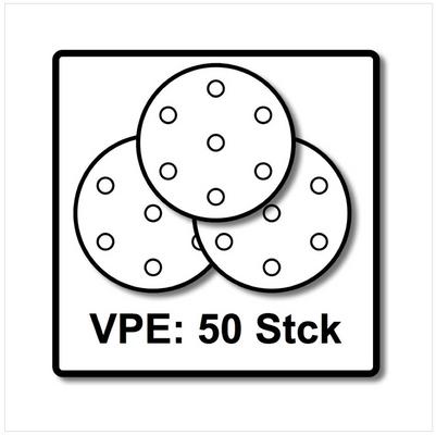 Festool STF D90/6 Schleifscheiben 90 mm Granat P60 GR / 50 Stück ( 497364 ) – Bild 5