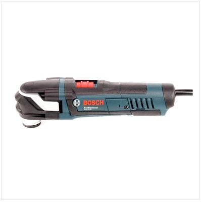 Bosch GOP 40-30 Professional Multi Cutter Multifunktionswerkzeug 400 W + Curved-Tec Wood+Metal Sägeblatt ( 0601231000 ) – Bild 3