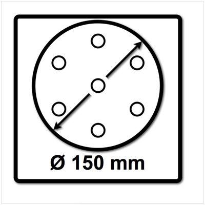 Festool Schleifteller ST-STF D150/17MJ-FX-W-HT 150 mm FastFix weicher Härtegrad ( 496147 ) – Bild 3
