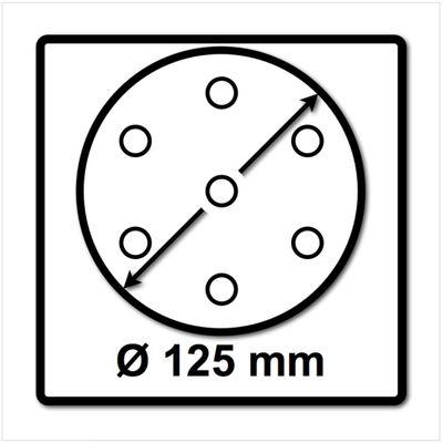 Festool Schleifteller ST-STF D125/8 FX-SW 125mm FastFix superweich ( 492126 ) – Bild 3