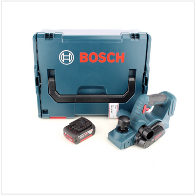 Bosch GHO 18 V-LI Akku Hobel 18V + 1x Akku 5,0Ah + L-Boxx - ohne Ladegerät – Bild 2