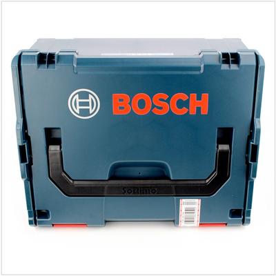 Bosch GHO 18 V-LI Akku Hobel 18V + 2x Akku 5,0Ah + Ladegerät + L-Boxx – Bild 3