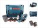 Bosch GHO 18 V-LI Akku Hobel 18V + 2x Akku 5,0Ah + Ladegerät + L-Boxx – Bild 5