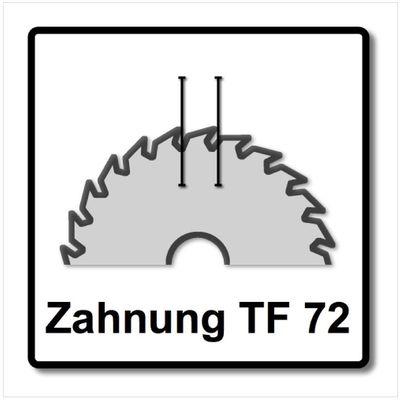 Festool Spezial Kreissägeblatt HW 210 x 30 x 2,4 TF72 210 mm 72 Zähne ( 493201 ) – Bild 4