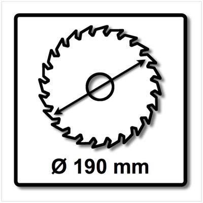 Festool Spezial Kreissägeblatt HW 190 x 2,6 FF Fast Fix TF54 190 mm 54 Zähne ( 492052 ) – Bild 3