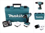 Makita DF 347 DWE 14.4V Li-ion Akku Bohrschrauber mit 2 x 1,5 Ah Akku und Ladegerät