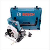Bosch GKS 18 V-57 G Professional Scie circulaire sans fil avec boîtier L-Boxx ( 06016A2101 ) - sans Batterie, ni Chargeur