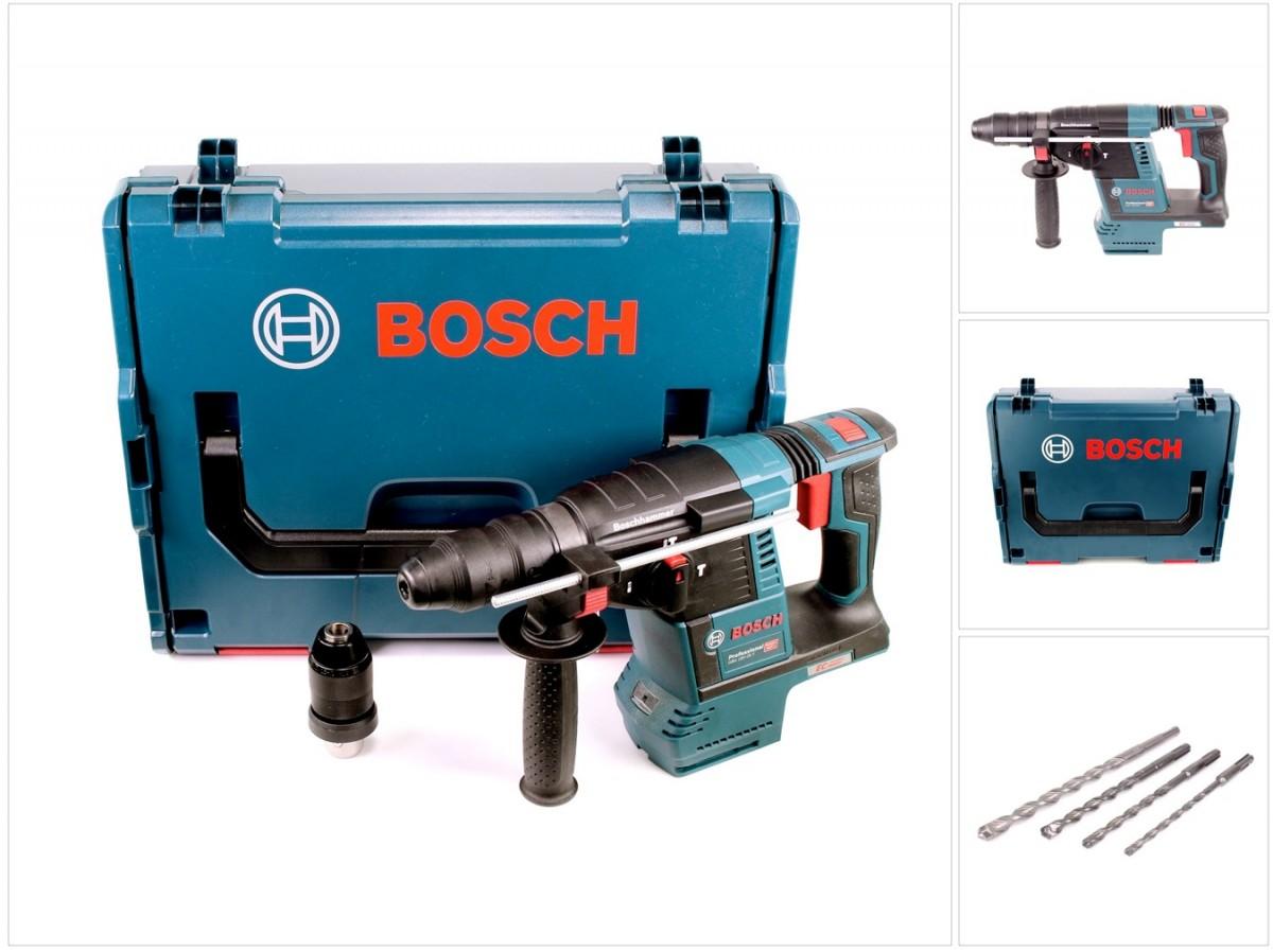 bosch gbh 18 v-26 f akku bohrhammer professional sds-plus + l-boxx +