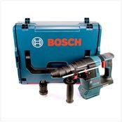 Bosch GBH 18 V-26 F Perforateur sans-fil Professional SDS-plus solo + Coffret L-Boxx + jeu de Forets à 4 pièces - sans Batterie ni Chargeur