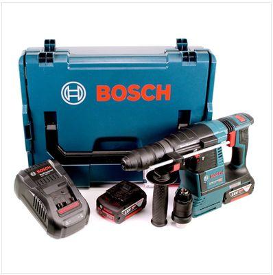 Bosch GBH 18 V-26 F Perforateur sans-fil Professional SDS-plus + Coffret L-Boxx + 2x Batteries GBA 5Ah + Chargeur GAL 1880 CV – Bild 2