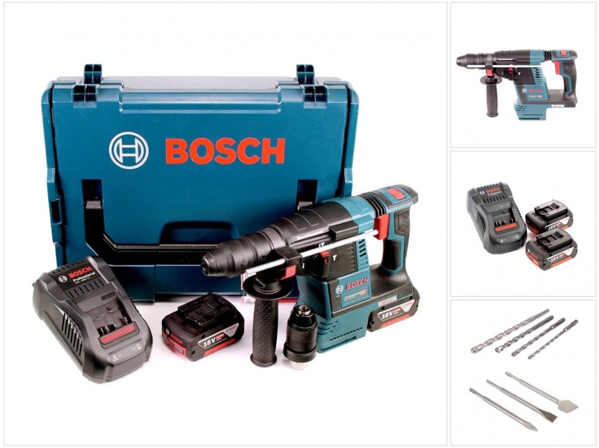 bosch gbh 18 v 26 f akku bohrhammer professional sds plus. Black Bedroom Furniture Sets. Home Design Ideas