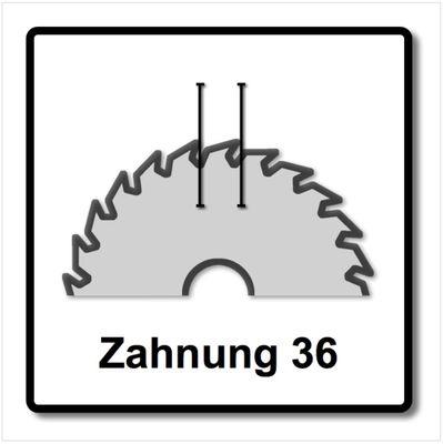 Dewalt DT 99572 Extreme Runtime Kreissägeblatt 250 x 30 x 2,16 mm 36 Zähne – Bild 4