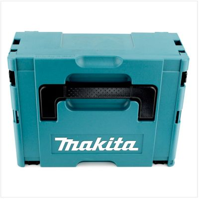 Makita DHP 458 B RT1J 18V Li-ion Perceuse visseuse à percussion sans fil nouveau model 18 V noir Brushless en Coffret MAKPAC + 1x Batterie BL 1850 5 Ah + Chargeur DC 18 RC – Bild 4