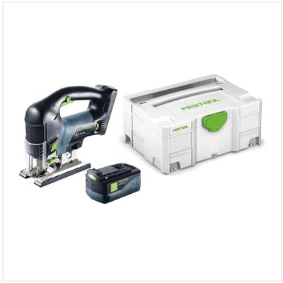 Festool PSBC 420 Li EB Basic Akku Pendel Stichsäge CARVEX ( 201379 ) im Systainer + 1x BP 18 Li 5,2 AS ( 200181 ) – Bild 2