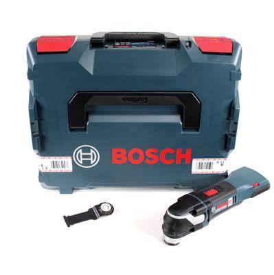 Bosch GOP 18 V-28 Akku Multicutter 18V ( 06018B6001 ) Multifunktionswerkzeug Starlock Plus Snap-In Solo in L-Boxx - ohne Akku, ohne Ladegerät – Bild 2