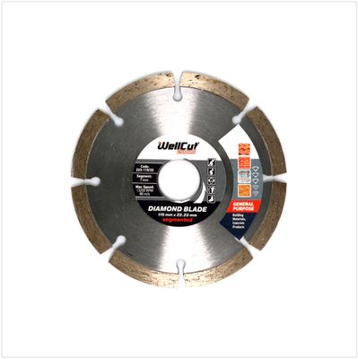 WellCut Diamond Blade Diamant Trennscheibe 115 x 22,2 mm General Purpose segmented ( 223 - 115 / 22 ) – Bild 2