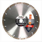 WellCut Diamond Blade Diamant Trennscheibe 230 x 22,2 mm General Purpose Turbo ( 222 230 / 22 )