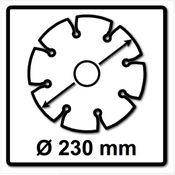 WellCut Diamond Blade Diamant Trennscheibe 230 x 22,2 mm General Purpose Turbo ( 222 230 / 22 ) Bild 3